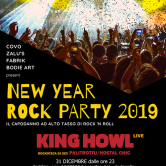 New Year Rock Party 2019 + Buffet