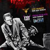 Halloween Rock Party: Dress In Black + Life Tribute